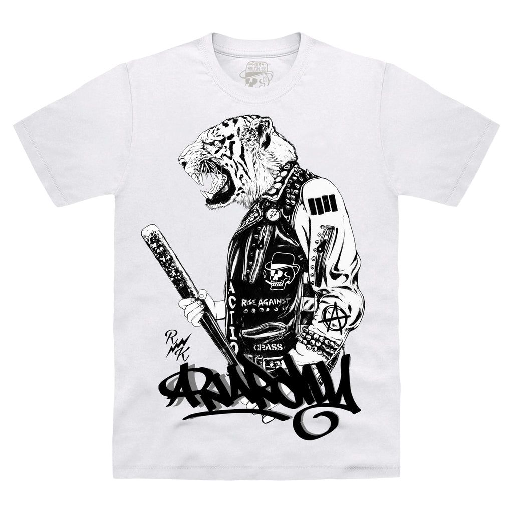 *NEW-IN* RK Anarchy Tiger T-Shirt