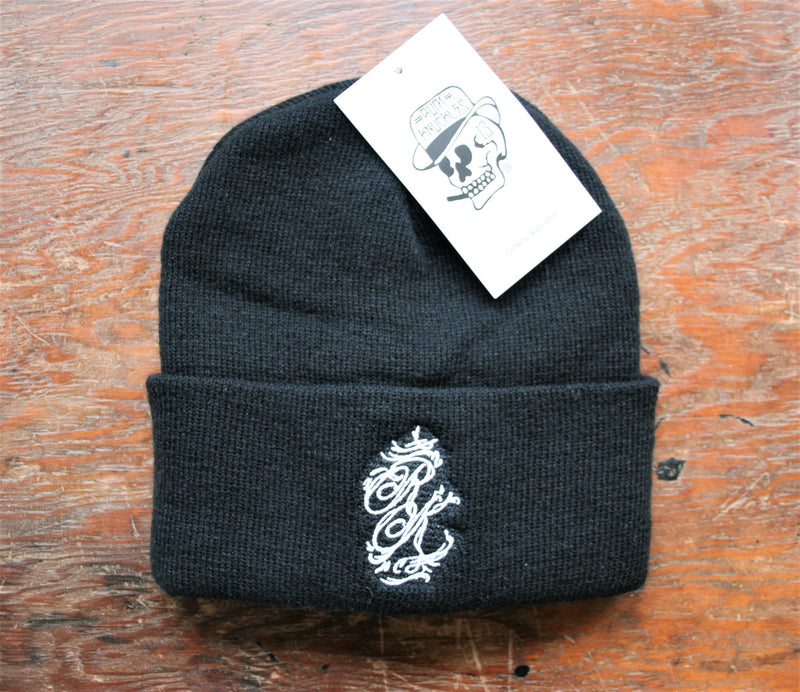 RK Limited RK Logo Embroidered Beanie