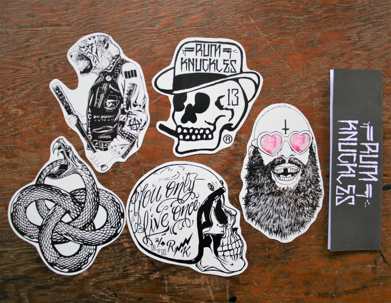 RK Limited Stickers