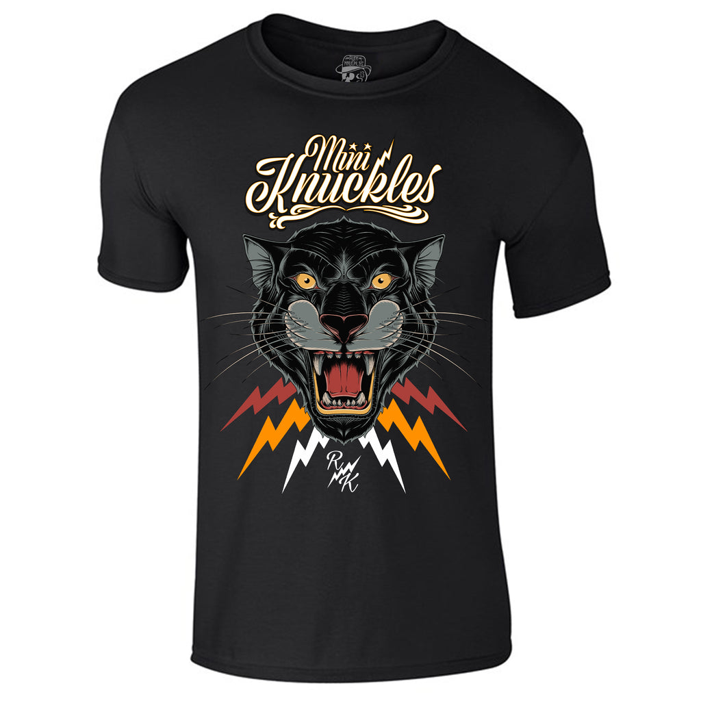 RK KIDS MINI KNUCKLES Panther Short-sleeve T-Shirt