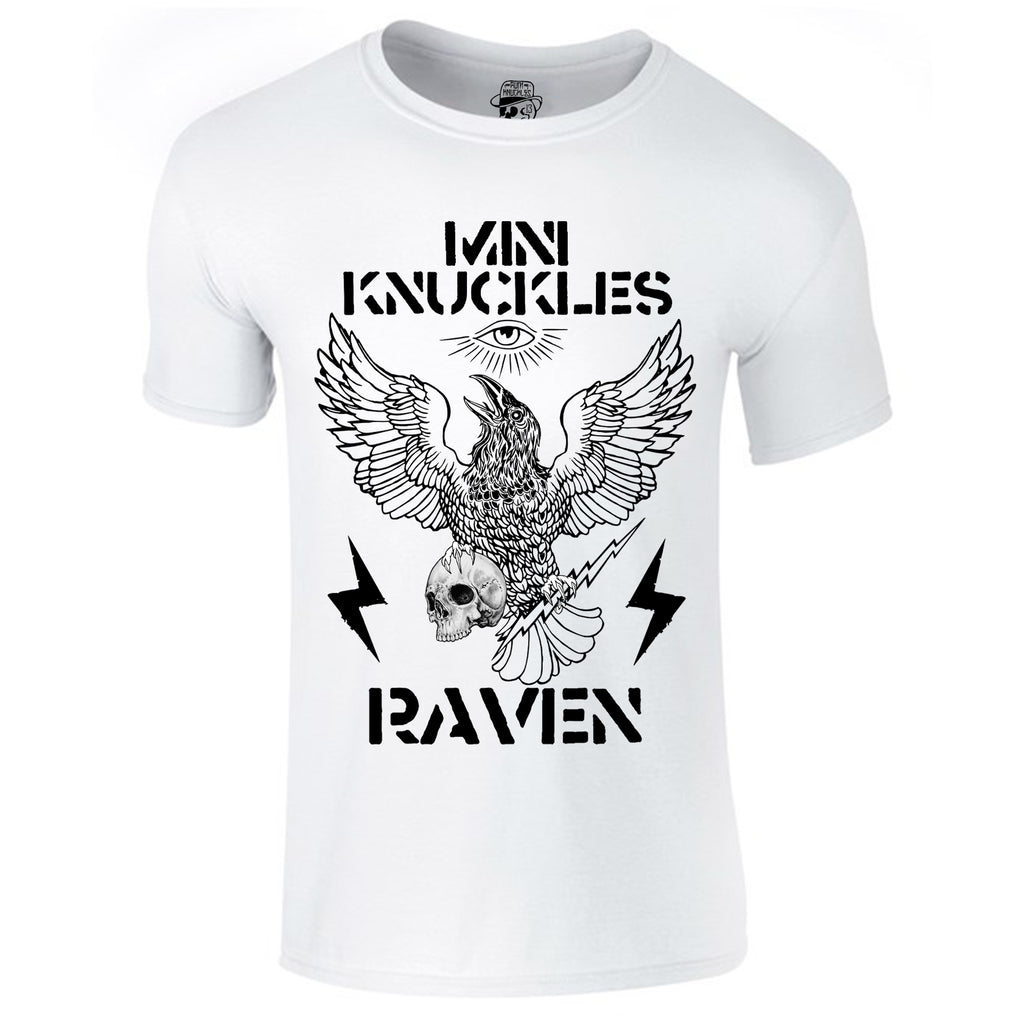 RK KIDS MINI KNUCKLES Raven Short-sleeve T-Shirt