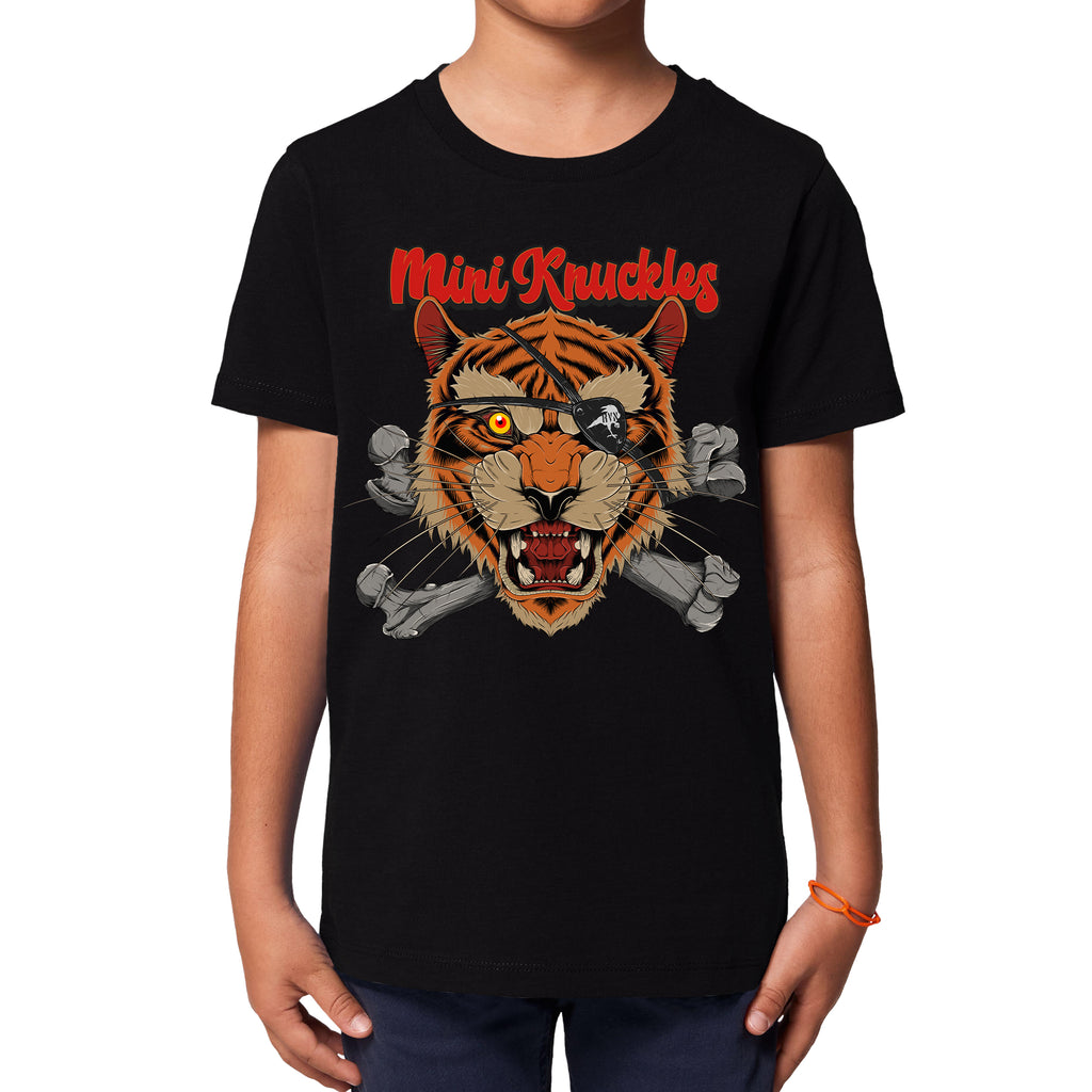 RK KIDS MINI KNUCKLES Tiger Bones Short-sleeve T-Shirt