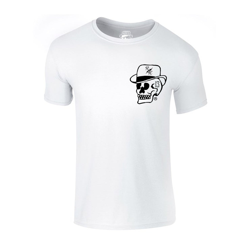 RK KIDS MINI KNUCKLES Skull Logo Short-sleeve T-Shirt