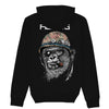 REORG 77 Limited Edition Silverback Hoodie - Choose Black or Heather Grey