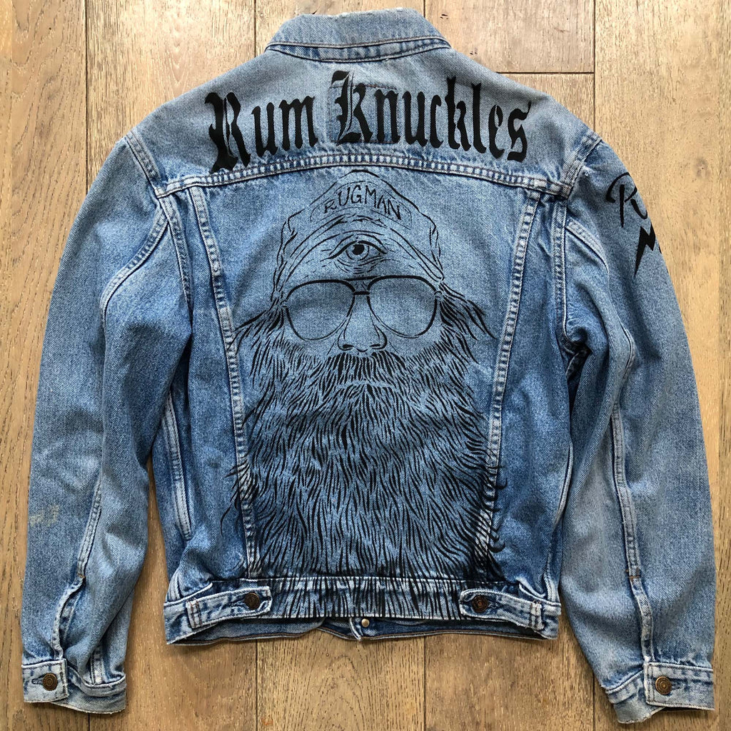 RK Vintage Denim Levis Beardy Man Jacket