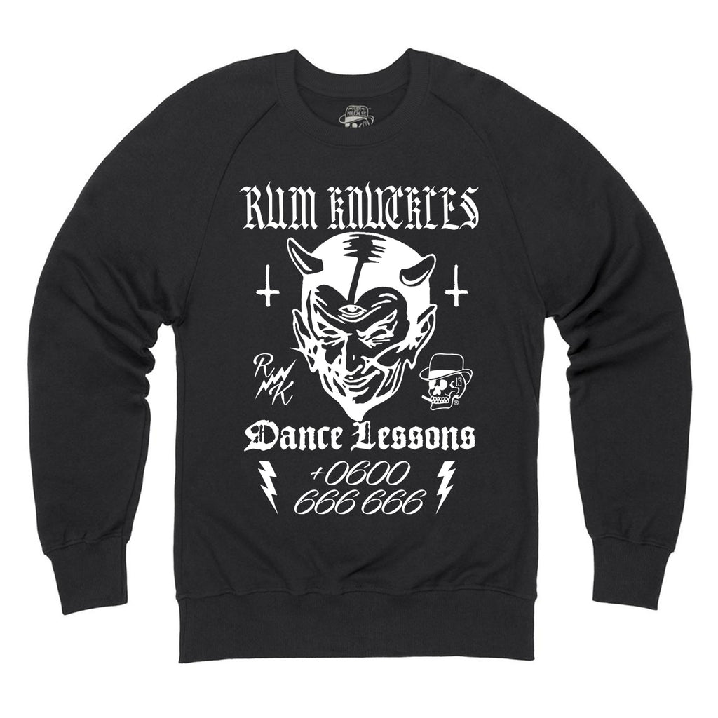 RK Dance Lessons Black Sweatshirt