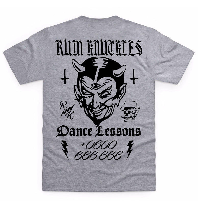 RK Dance Lessons Heather Grey T-Shirt