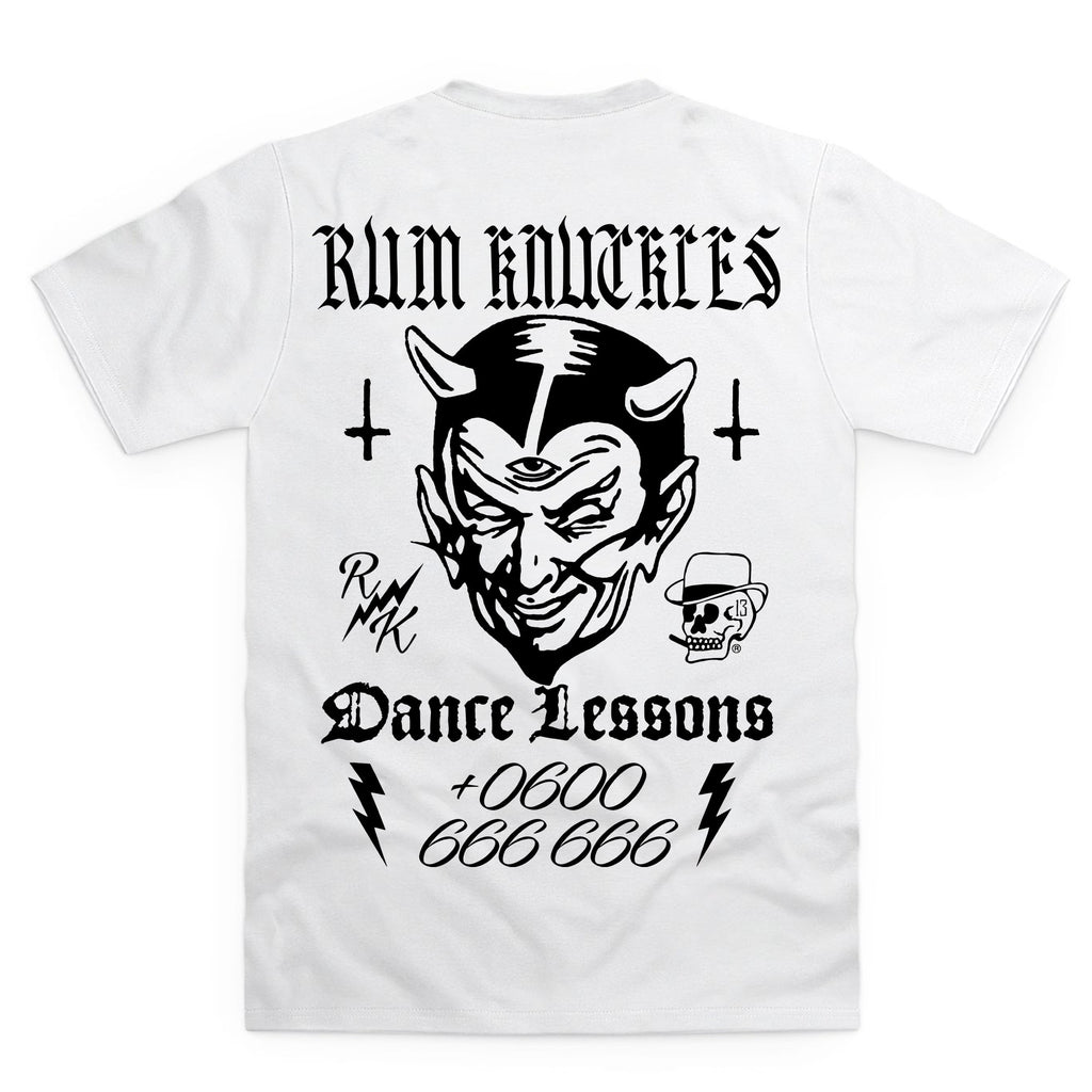 RK Dance Lessons White T-Shirt