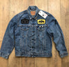 RK Reworked Raven Skull Denim Jacket