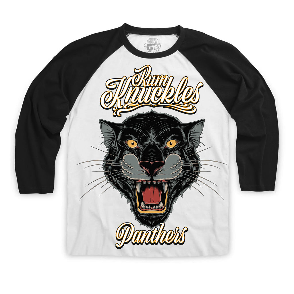 RK Panthers 3/4 Sleeve Raglan Baseball Tee