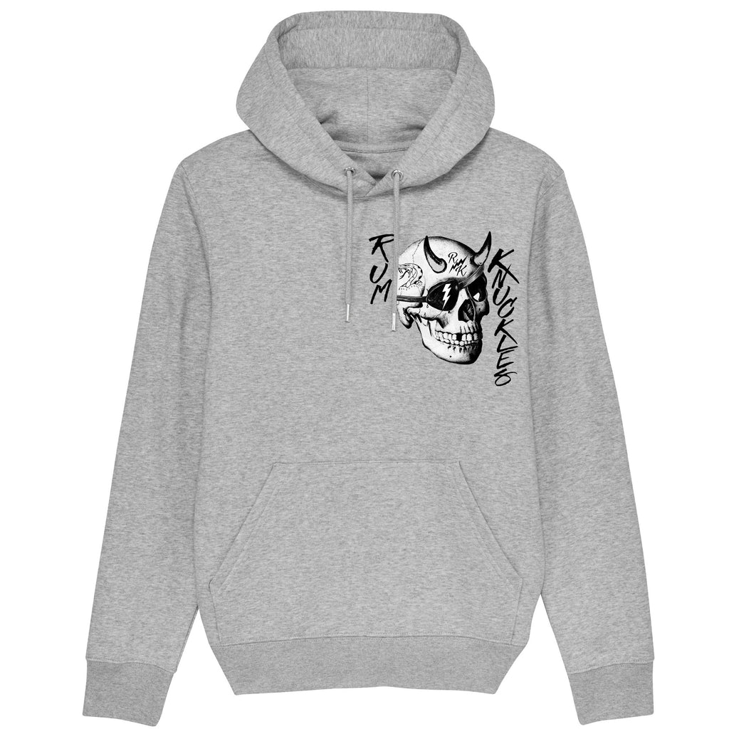 RK Pin Up Heather Grey Hoodie