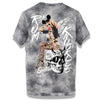 RK Pin Up Tie Dye Grey Tee