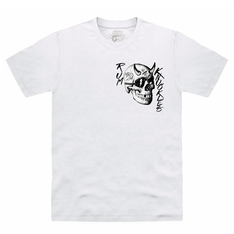 RK Pin Up White T-Shirt