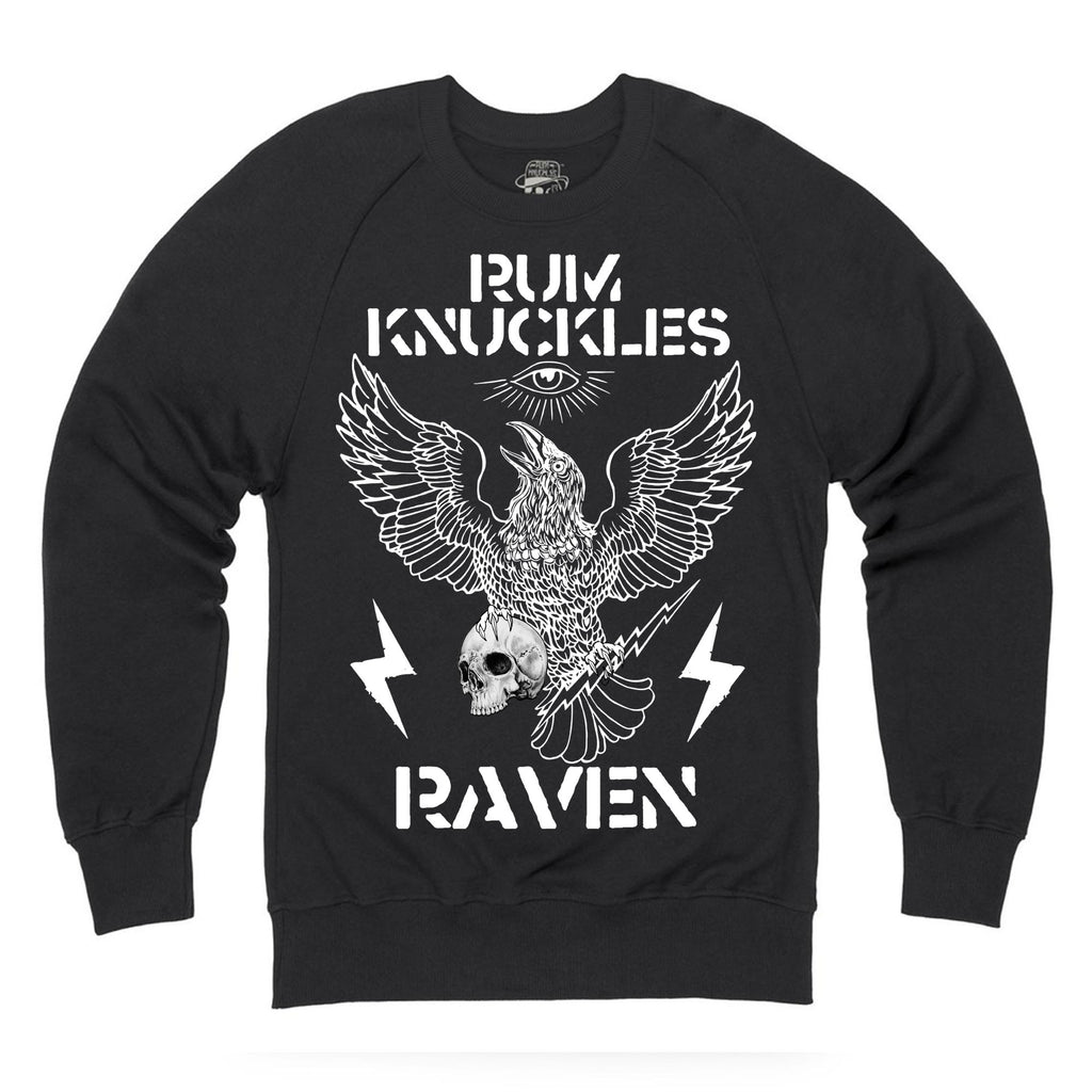 RK RAVEN Black Sweatshirt