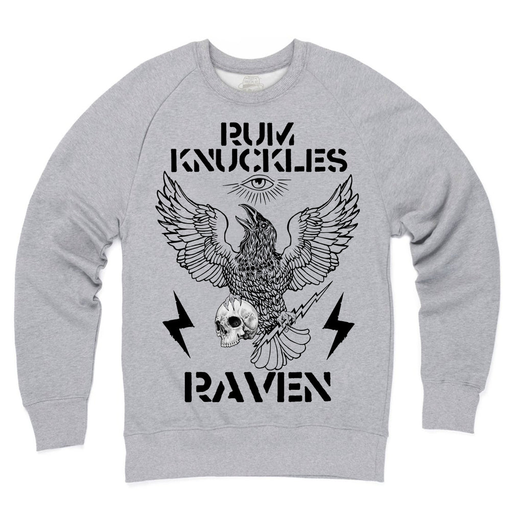 RK RAVEN Heather Grey Sweatshirt
