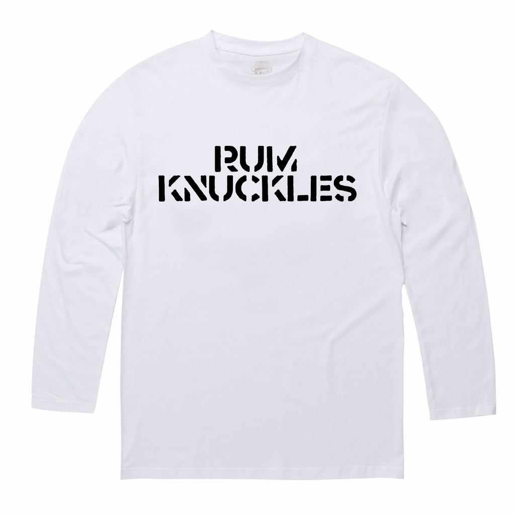 RK Raven Tee - Long-sleeve / White