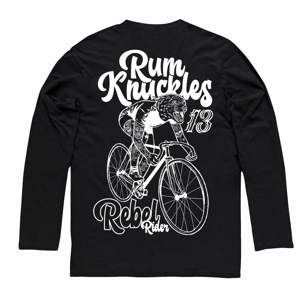 RK Rebel Rider Tee - Long-sleeve / Black