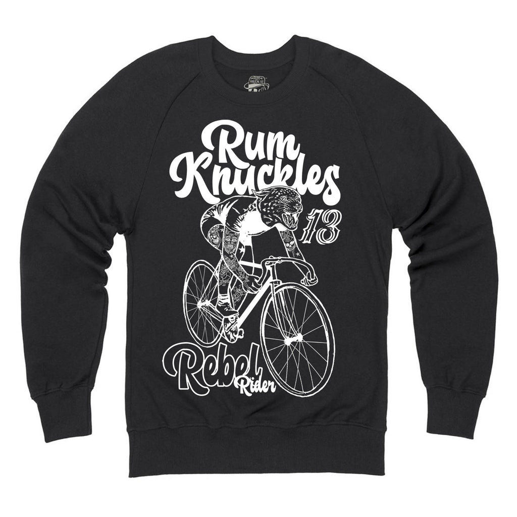 RK Rebel Rider Black Sweatshirt