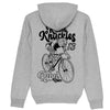 RK Rebel Rider Heather Grey Hoodie