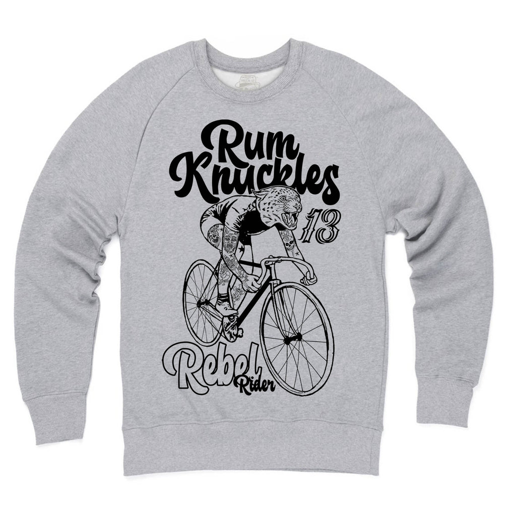 RK Rebel Rider Heather Grey Sweatshirt