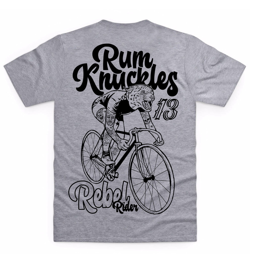 RK Rebel Rider Heather Grey T-Shirt