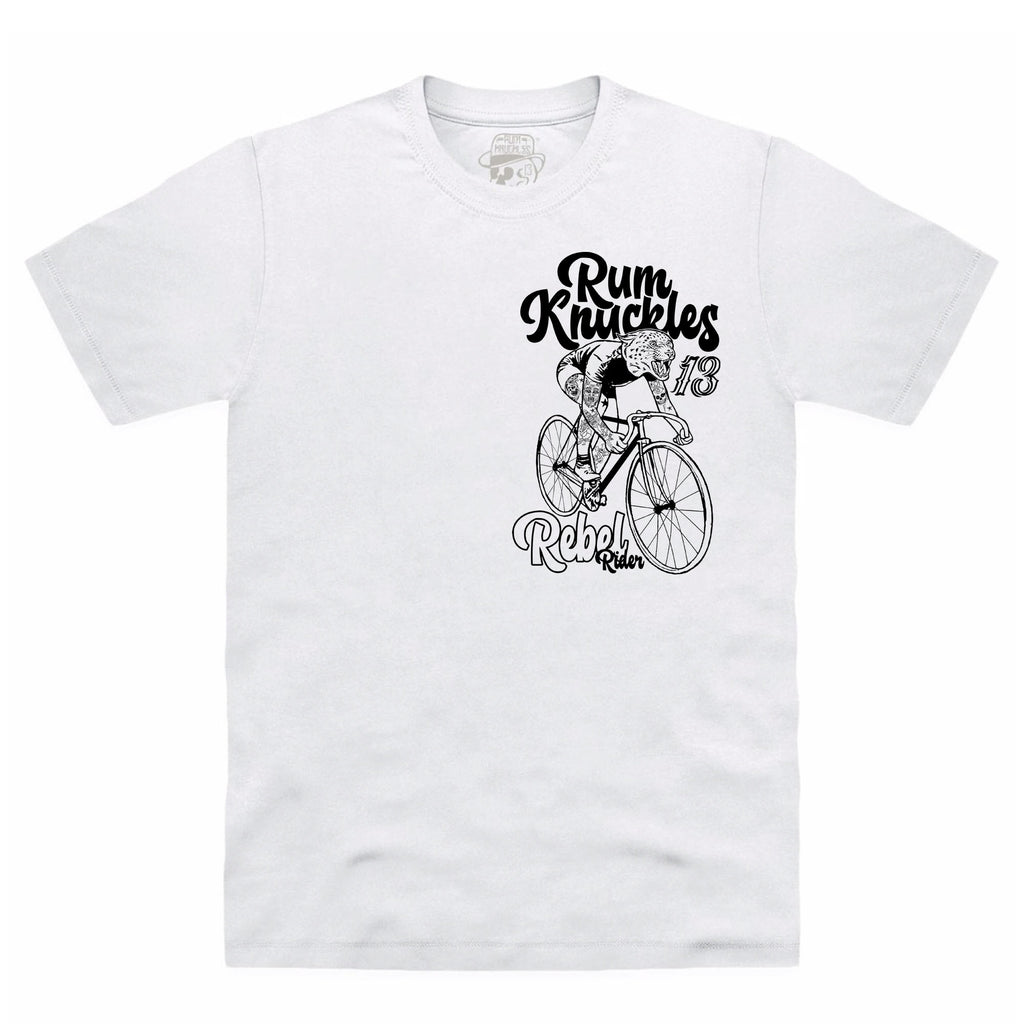 RK Rebel Rider White T-Shirt
