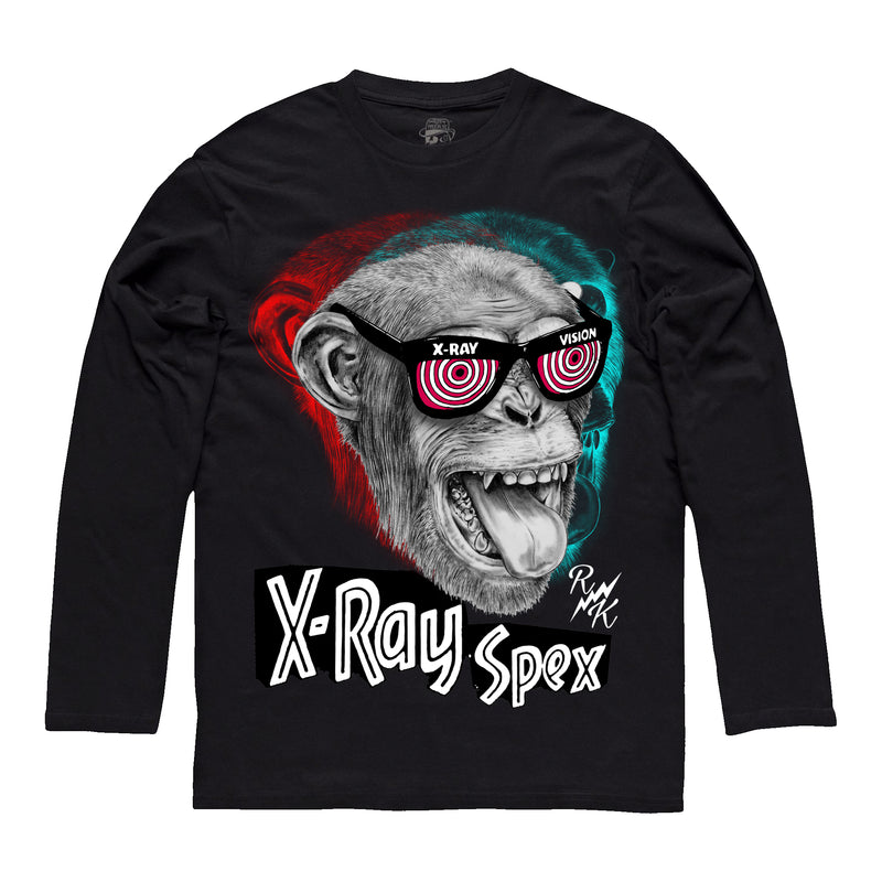 *NEW-IN* RK X-Ray Spex Long-sleeve Tee