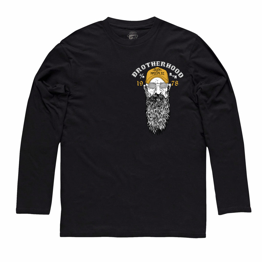 RK BROTHERHOOD Long Sleeve T-Shirt Black
