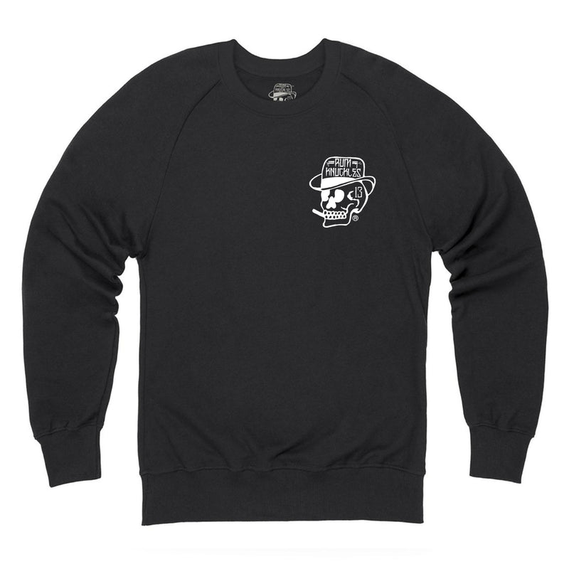 Skull Logo Sweater Back