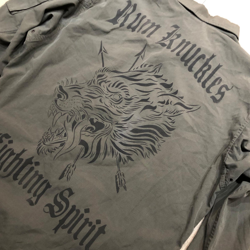 RK WLF Green Shirt Jacket 6 - COYOTE Rip Stop Vintage F2