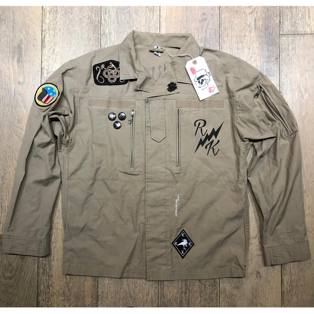 RK WLF Sand Shirt Jacket 5 - COYOTE Rip Stop Vintage F2