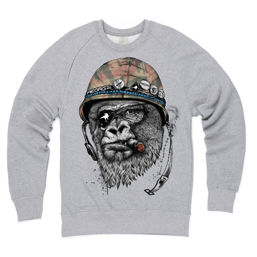 RK x REORG - Silverback Sweat Heather Grey