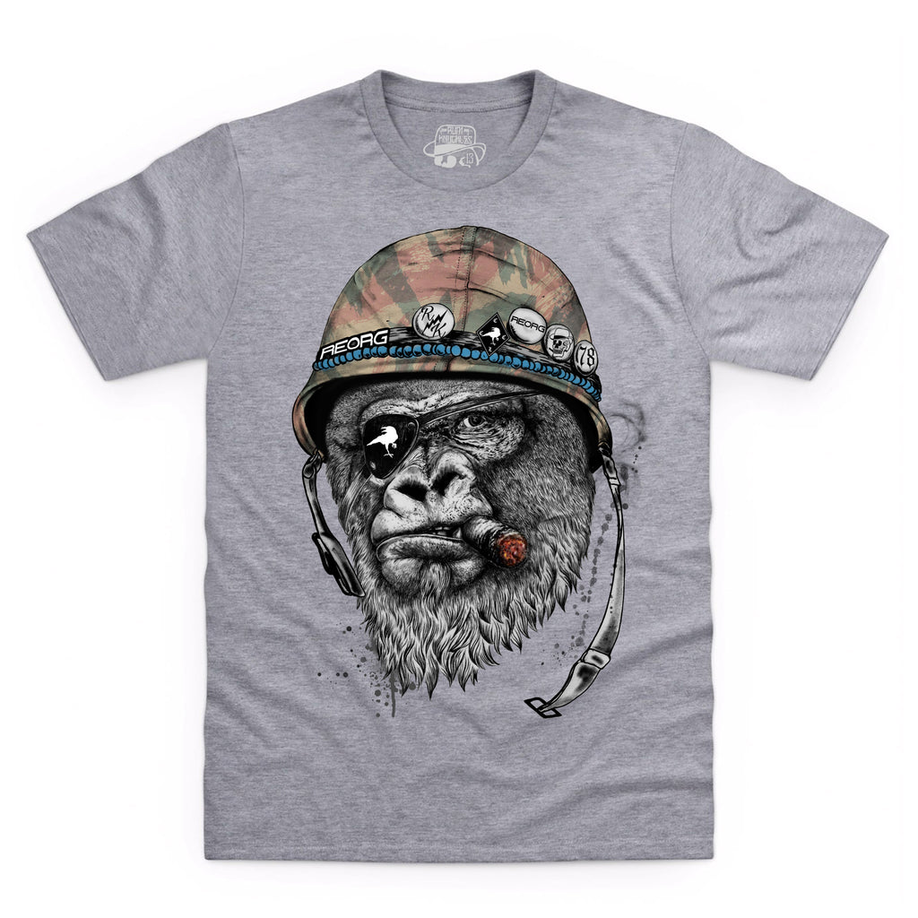 RK x REORG Silverback T-Shirt - Heather Grey