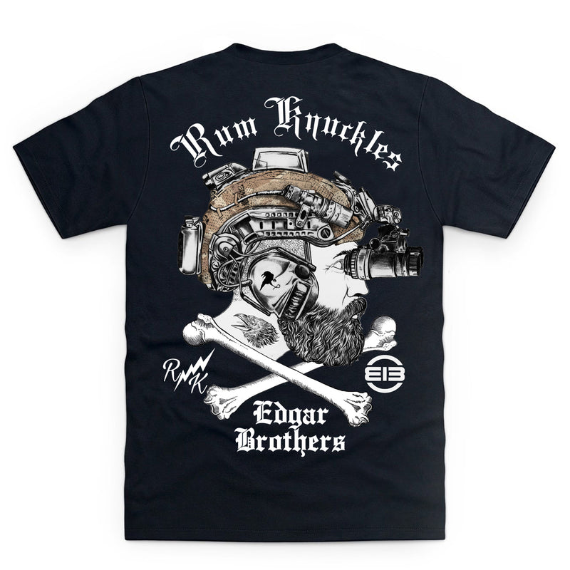 RK x EDGAR Brothers Black T-Shirt