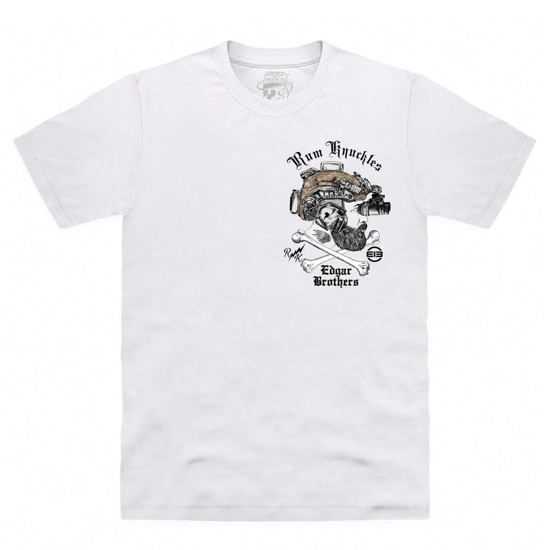 RK x EDGAR Brothers White T-Shirt