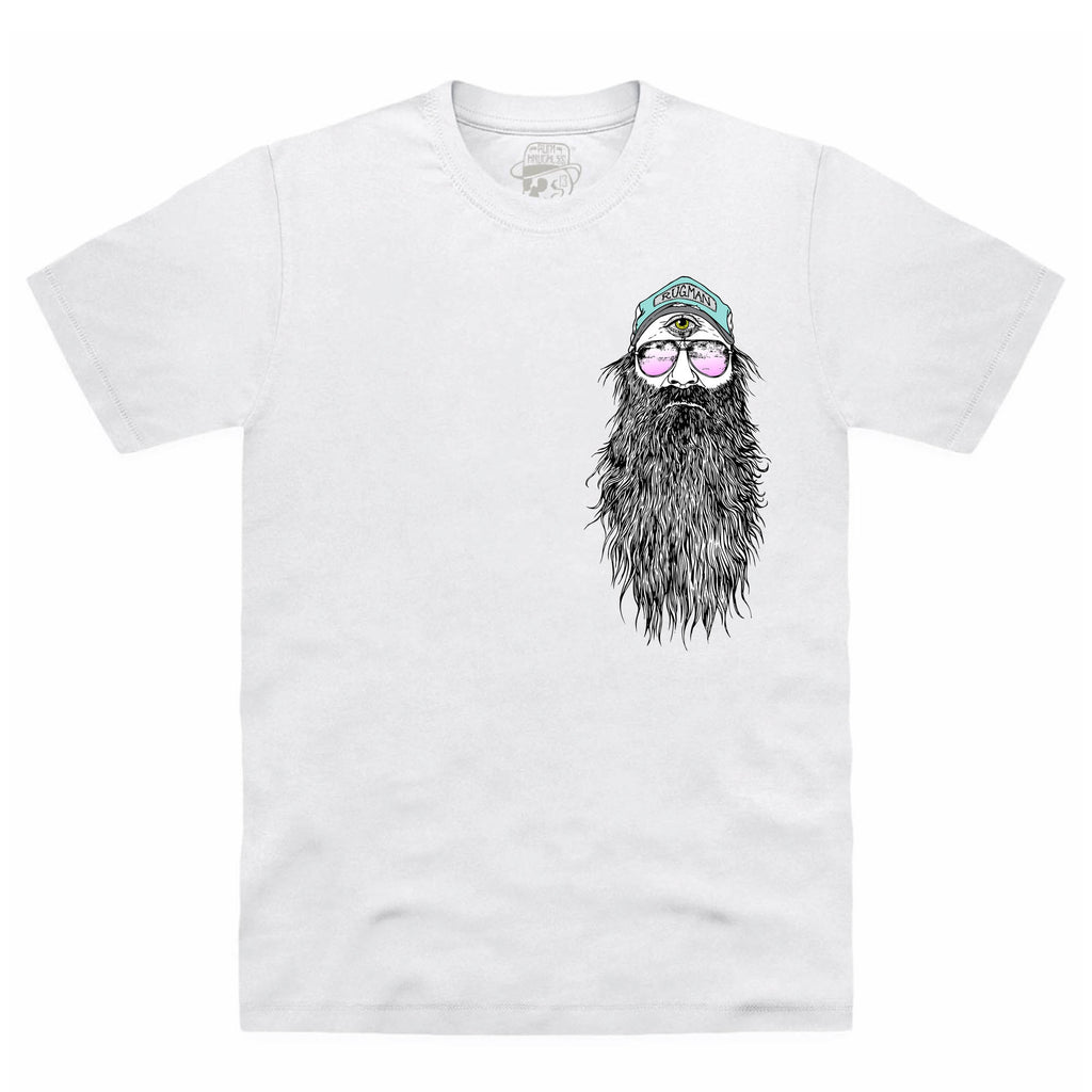 RUGMAN BEARDY MAN T-SHIRT White