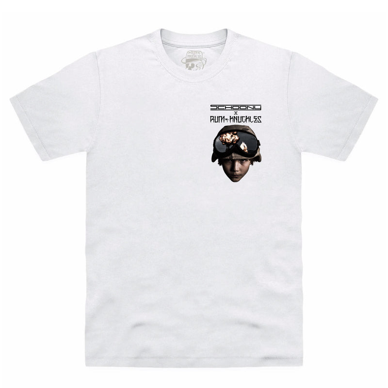 CLEARANCE RK x SCHOONY Soldier Face T-Shirt - White