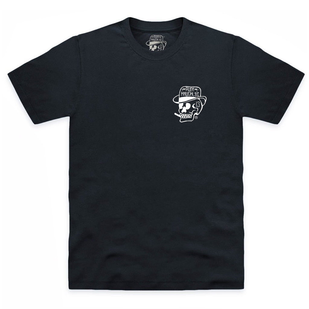 RK Skull Logo back T Shirt Black