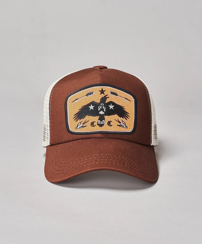 RK KIDS MINI KNUCKLES Golden Raven Trucker Cap