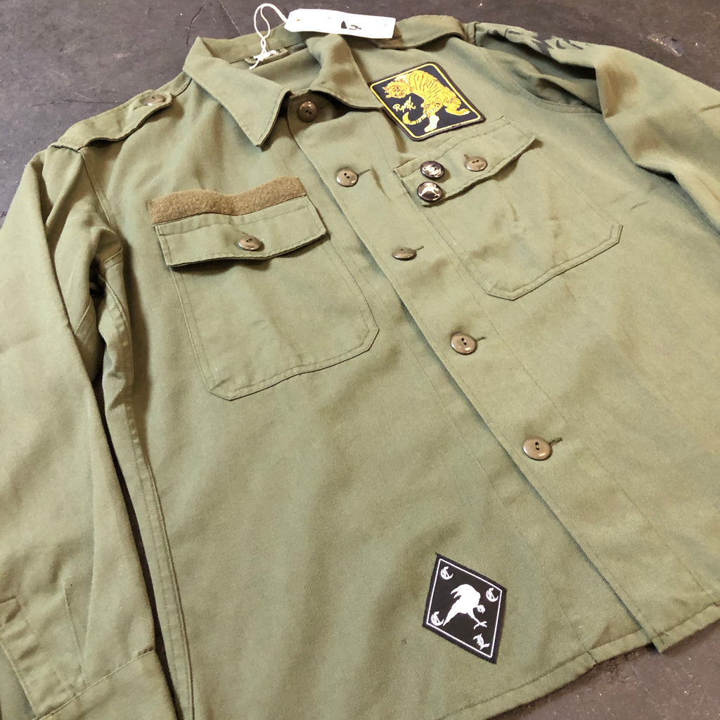 RK Wolf - Army Shirt Jacket -Tiger Patch