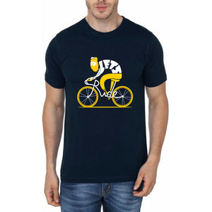 Cycle Navy Blue T-Shirt
