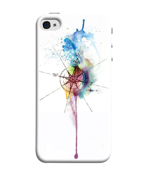 Apple Iphone 5S Directions Watercolor Mobile Cover