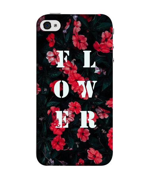 Apple Iphone 5S Flower Mobile Cover
