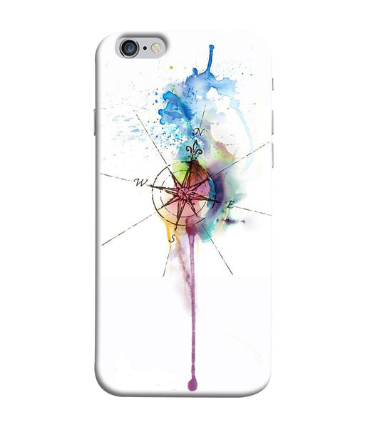 Apple Iphone 6 Directions Watercolor Mobile Cover