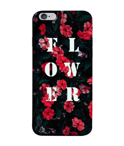 Apple Iphone 6 Flower Mobile Cover