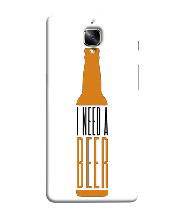 One Plus 3 Beer Mobile Cover