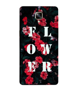 One Plus 3 Flower Mobile Cover