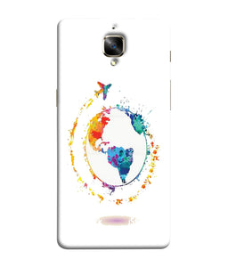 One Plus 3 World Mobile Cover