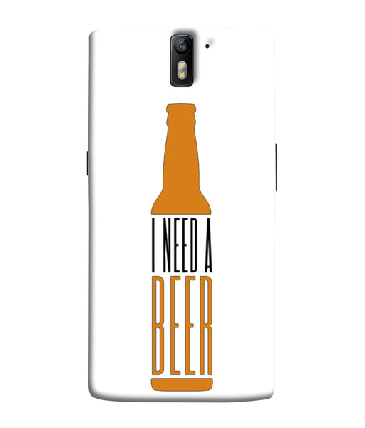 One Plus 1 Beer Mobile Cover