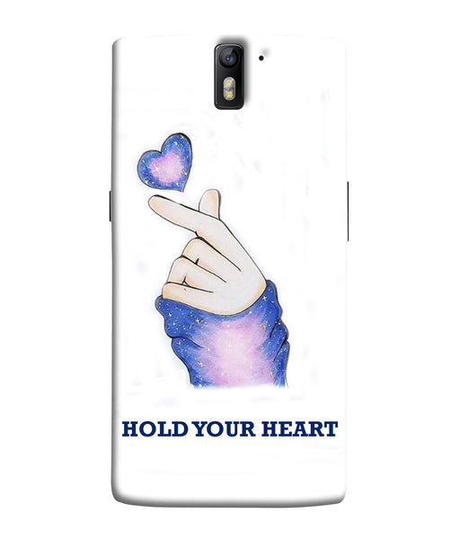 One Plus 1 Hold Your Heart Mobile Cover